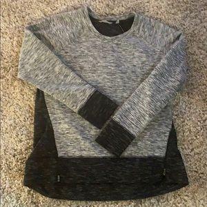Athleta women's sweatshirt size XL black grey